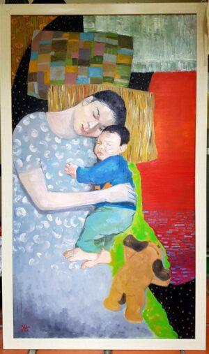 Người Phụ nữ và đứa trẻ