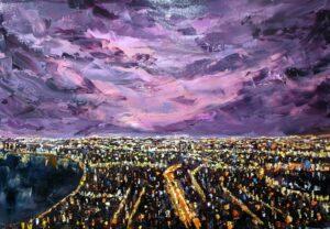 Khi thành phố lên đèn