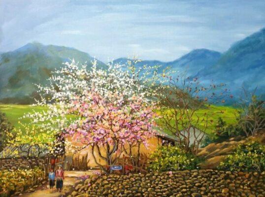 10 bức tranh phong cảnh đẹp của những họa sĩ Việt Nam