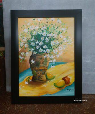 Khung tranh cho tranh sơn dầu: nhựa PS hay gỗ tự nhiên là lựa chọn tối ưu?