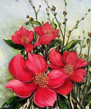 Hoa đỏ
