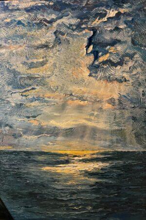 Hoàng Hôn Trên Biển