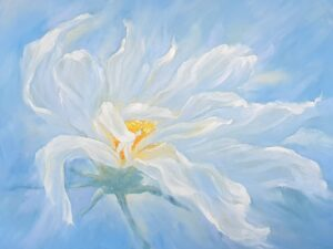 Hoa trong gió