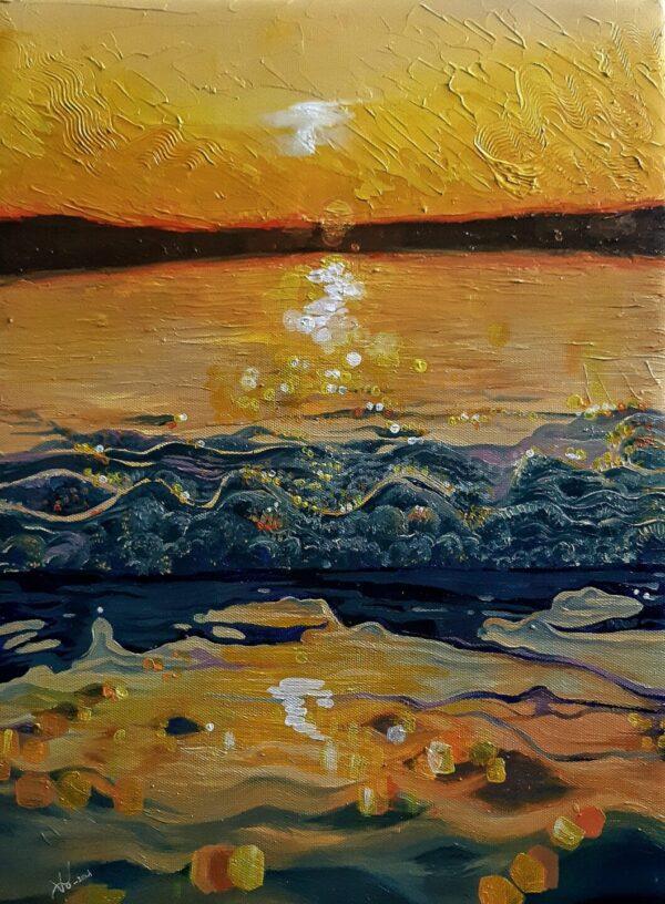Bình Minh Trên Biển No. 2
