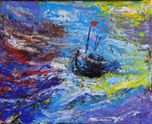 Mua tranh sơn dầu ở đâu đẹp mà đẳng cấp nhất