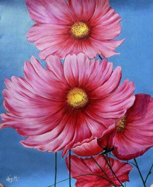Hoa sao nháy hồng