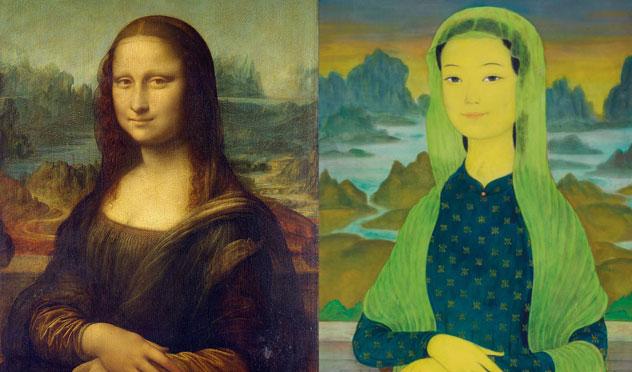 """Bức tranh """"Mona Lisa"""" phiên bản Việt: lên sàn đấu giá với mức giá 3 triệu USD"""